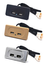 Mini Dual USB Cargador de coche 12V Enchufe Adaptador Para Caravana Autocaravana Camper Van