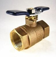 """Febco 3/4"""" Ball Valve Non Tapped, Full Port, #781048 Fits Wilkins Conbraco Watts"""