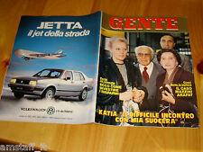 GENTE=1985/47=TRIO LESCANO=KATIA RICCIARELLI=ROMINA POWER=RAFFAELLA CARRA=