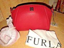 Furla Asia Mini Leather Crossbody Bag, Red NWT
