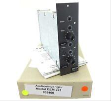 DYNACORD Audio Eingangsmodul DEM 223 121162 Input Module Audio-Eingang UNUSED