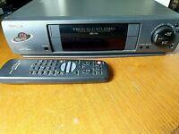 Sharp VCR Video Cassette Recorder - 4 Head HiFi MTS Stereo VHS Player - VC-H942U