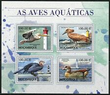 MOZAMBIQUE   2017  AQUATIC BIRDS SHEET MINT NH