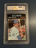 Chicago Cubs 1971 Billy Williams card - Vintage - MLB - Graded