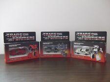Transformers G1 Omnibots  3 Boxes Custom - Overdrive/Downshift/Camshaft