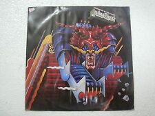 JUDAS PRIEST DEFENDERS OF THE EARTH  CBS RARE LP RECORD 1984 INDIA INDIAN ex