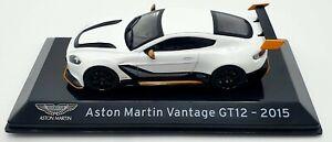 EBOND Modellino Aston Martin Vantage GT12 - 2015 - Die cast - Scala 1:43 S044.