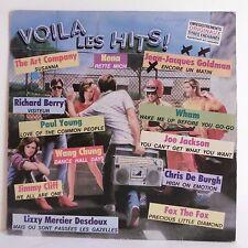 "33T VOILA LES HITS Vinyl LP 12"" GOLDMAN BERRY YOUNG NENA WHAM JACKSON -CBS 26197"