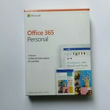 Microsoft Office 365 Personal 1 Year Subscription - 1 User - Retail Box