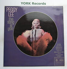 PEGGY LEE - The Song Is You - Excellent Condition LP Record MFP 1358