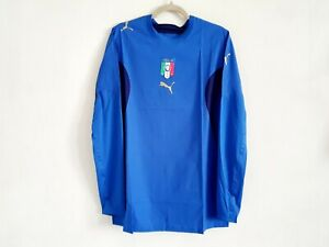 ITALY ADULT 2006/07 LS HOME PLAYER ISSUED SHIRT