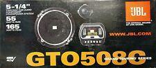 "JBL Grand Touring Series GTO 508C / GTO508C 165 Watts 2-Way 5.25"" Car Speakers"