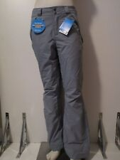 Womens XS-S-M-L-XL Columbia Polar Eclipse Insulated Waterproof Ski Pants Grey
