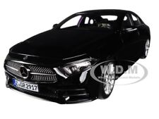 2018 MERCEDES CLS CLASS BLACK 1/18 DIECAST MODEL CAR BY NOREV 183592