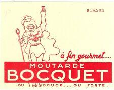 Buvard moutarde Bocquet