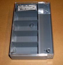 Sortimentkasten 6 Fächer grau Box Sortieren Kleinteile 164x101x31 mm Neu