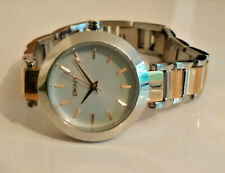 Womens DKNY Steel & Rose Gold Plated Strap Watch NY-2402 Watch