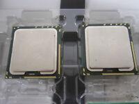 Matching Pair Intel Xeon E5620 SLBV4 2.40GHz Quad Core Socket 1366 CPU Processor