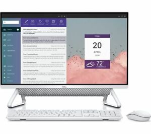 """Dell Inspiron 7000 27"""" All-in-one Desktop i5-1135G7 8GB 256GB + 1TB Silver 2021"""