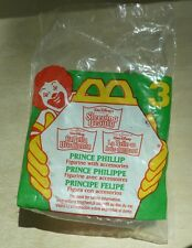 McDonald's Disney Sleeping Beauty Prince Phillip figurine toy #3 happy meal 1996
