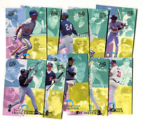 1993 Fleer Ultra Performers Subset of 10 Cards Griffey Bonds Maddux+++ jh20