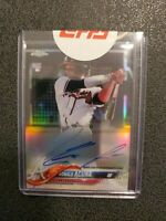 2018 TOPPS CHROME RONALD ACUNA RC REFRACTOR AUTO #'D /499 INVEST!