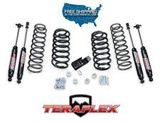 "TeraFlex TJ 2"" Suspension Coil Lift Kit w/ 9550 Shocks for 97-06 Jeep Wrangler"
