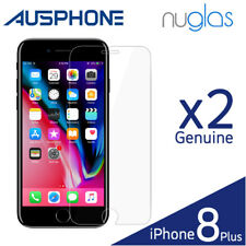 2x Genuine Nuglas Tempered Glass Screen Protector for Apple iPhone 8 7 6 6s Plus iPhone 7
