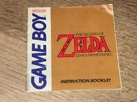 Legend of Zelda Link's Awakening Instruction Manual Booklet Nintendo Game Boy