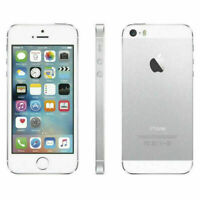 Apple iPhone 5s - 16GB - Silver (Factory Unlocked) 4G LTE iOS GSM Smartphone B+