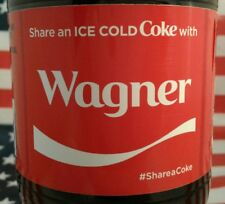 Share A Coke With Wagner 2017 Limited Edition Coca Cola Bottle