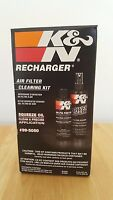 K&N Air filter cleaner kit - 99-5050- Squeeze Oil and pump cleaner
