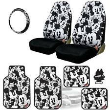 NEW MICKEY MOUSE CAR SEAT COVERS PLUS FLOOR MATS AND ACCESORIES SET FOR JEEP