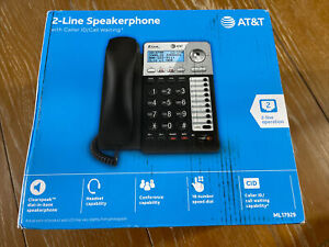 AT&T 2 Line Speakerphone w/Caller Id Call Waiting ML17929
