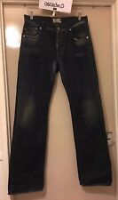 Men's Energie Peet Straight Jeans Blue With Wash, Minor Worn & Tear W34 L34