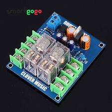 7812+UPC1237 Dual OMRON Relay Speaker Protection Board diy Kit Performance BSG