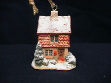 1992 Lilliput Lane Mistletoe Cottage 1992 Ornament with box and deed