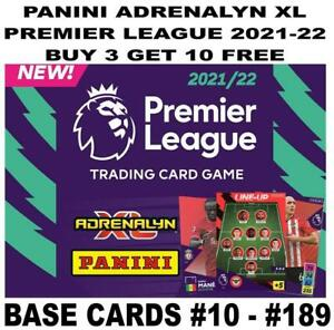 PANINI ADRENALYN XL PREMIER LEAGUE 2021-2022 21/22 BASE CARD #10 - #189