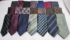 NEW Mens Wholesale Lot of 100 Silk & Other Name Brand Varied Style Necktie Ties