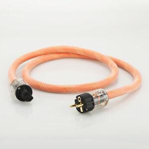 K800 Pure Copper Schuko Power Cable Audio Grade HIFI Mains Cord