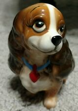 Vintage Lady without Tramp Figurine Walt Disney Productions Japan
