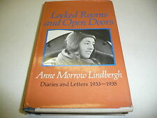 Locked Rooms and Open Doors Anne Morrow Lindbergh Diaries and Letters 1933-1935
