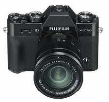 FUJIFILM X-T20 4K Ultra-HD 24MP Compacts Camera XC 16-50 mm Objectif Noir * coffret * UK