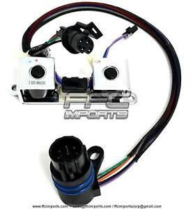A518 A618 46RE 46RH 47RE Transmission TCC & Overdrive Lock-up Solenoid SET 96-99