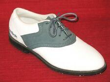 REEBOK Softspikes Green & White Golf Shoes womans sz 6