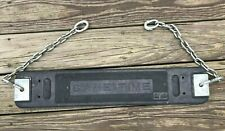Vtg NOS Game Time Rubber Swingset Swing w/ Chain GameTime Industrial Playground