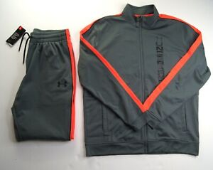 UNDER ARMOUR Men's Unstoppable Track Jacket & Jogger Pants Set NEW NWT
