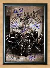 Sons of Anarchy Cast x 10 Signed Autographed A4 Photo Print Poster TV Show dvd