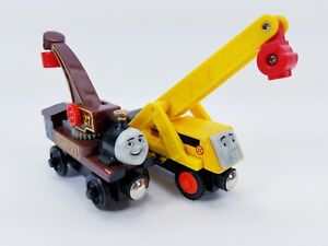 Thomas and Friends Wooden Railway Harvey & Kevin - Construction - Free Shipping