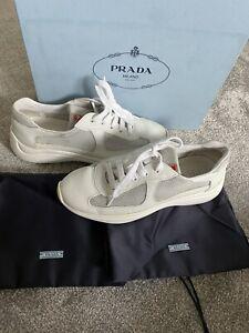 Ladies Genuine Prada Trainers Size 5